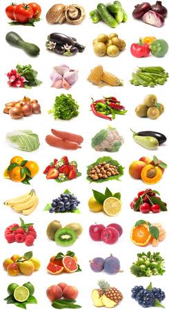 Fruits et légumes Banque d'images - 45890788