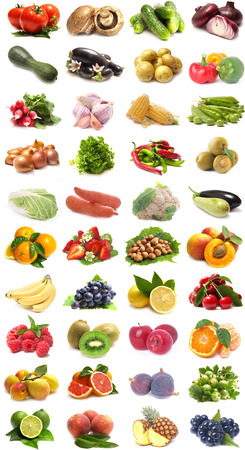 verduras verdes: Frutas y hortalizas