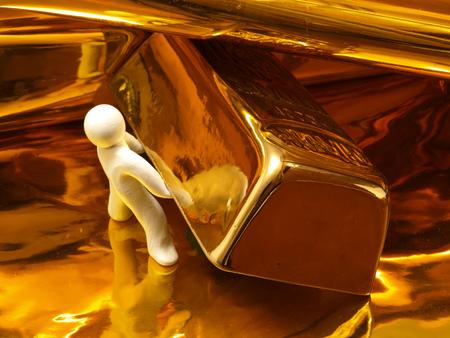 goldbars: gold ingot
