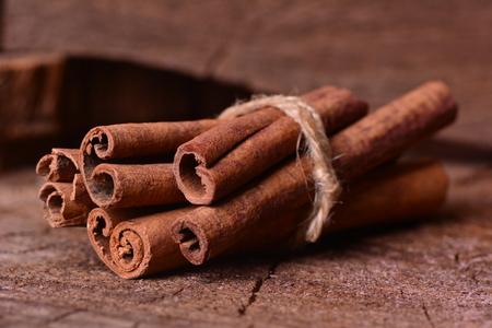 stick of cinnamon: Fresh cinnamon Stock Photo