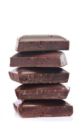 dunkle Schokolade Standard-Bild