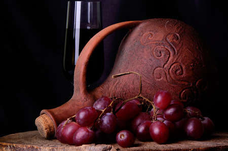 mustiness: georgian wine