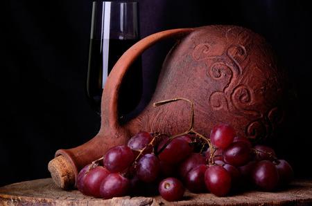 georgischen Wein Standard-Bild