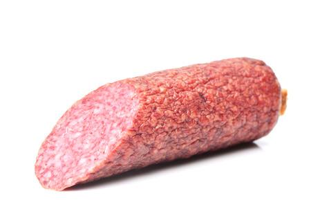 smoked sausage: smoked sausage Stock Photo