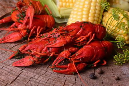 cancers: Fresh crayfish