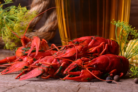 crustacea: Beer and crayfish