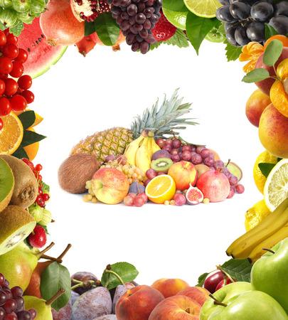 pied: fresh fruit
