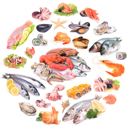 The freshest seafood from different corners of the world