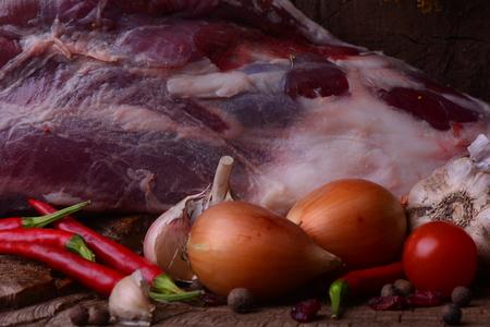 carcass meat: Fresh mutton leg