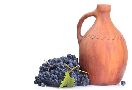 mustiness: grape wine Stock Photo