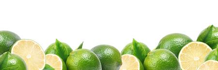 Limoen fruit Stockfoto