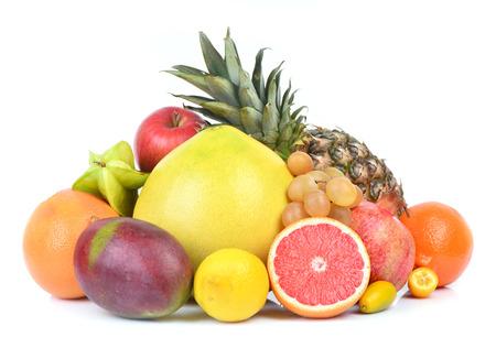 pied: Fresh fruit Stock Photo