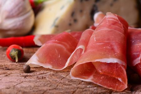 Fresh hamon Stock Photo