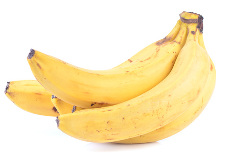 banana fruit isolate on white Stock Photo