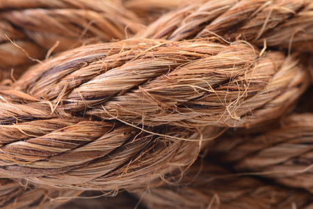 Close up texture of rope