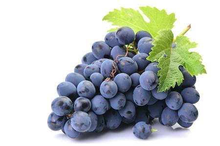 Grapes on a white background Standard-Bild