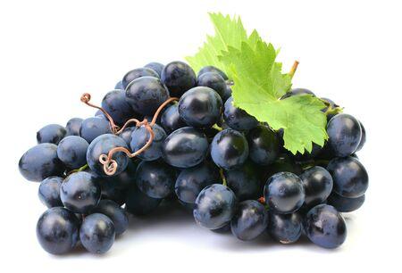 Grapes on a white background Stockfoto
