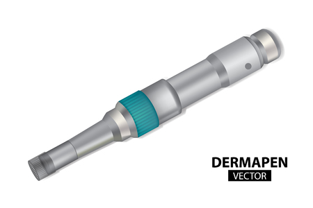 DERMAPEN. Microneedle stamping device. Collagen induction therapy