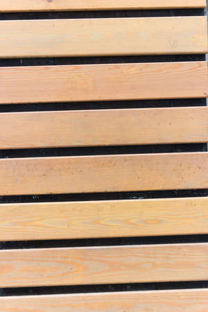 gleams: Brown wooden planks with black gleams, background and texture Stock Photo