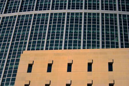 High - rise windows Banco de Imagens