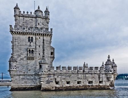 Turm von Bel�m (Torre de Bel�m), Lissabon, Portugal