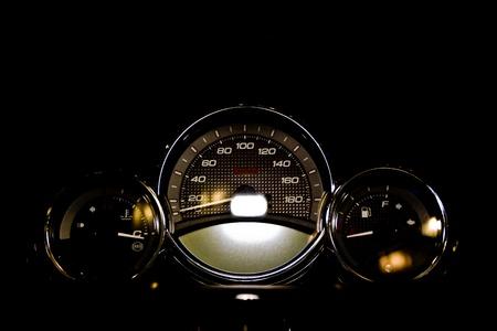 Motorrad-Systemsteuerung Lizenzfreie Bilder