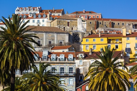 Alfama - the old town of Lisbon, Portugal