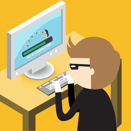 steal brain: A thief copy idea from computer