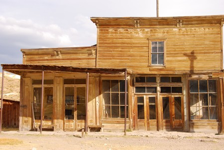 ghost town: The Bodie Hotel
