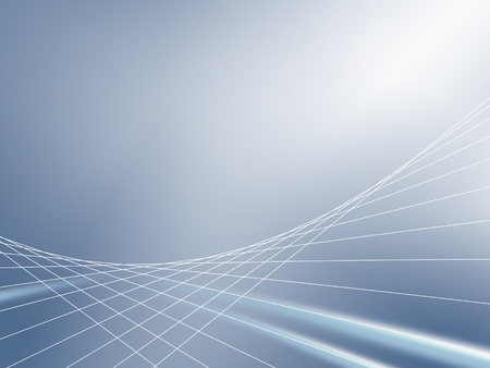 graticule: Business Concept - abstract background, blue and white