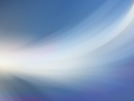 futurist: Abstract blurred blue and white background with soft lighting