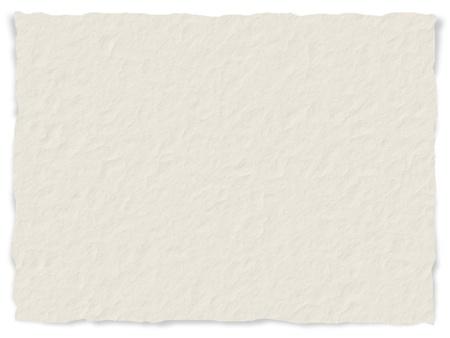 Textura del papel rasgado con los bordes deshilachados - digital generada