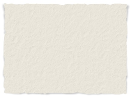 scrap paper: Torn paper texture with frayed edges - digital generated Stock Photo