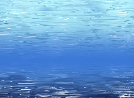 seabed: Abstract submarine background - clear fresh water with seabed and water surface