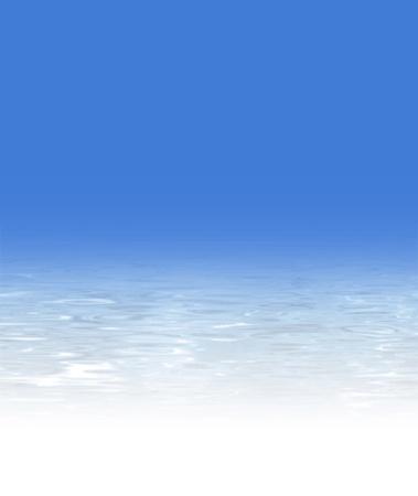 water achtergrond textuur - zomer achtergrond design - abstracte strand illustratie met blauwe lucht en een kristalheldere zee