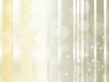 Abstract background design with glossy lines and shiny stars - luxury style - elegant Christmas backdrop with copy space Illustration