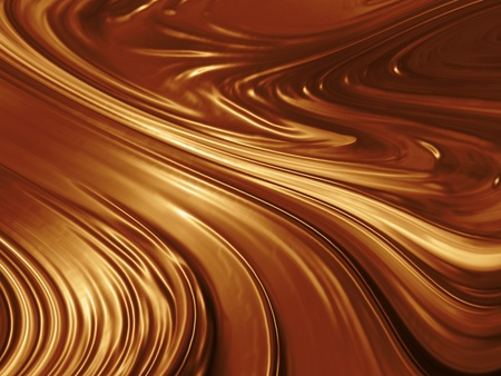 chocolate swirl: Abstract chocolate background design