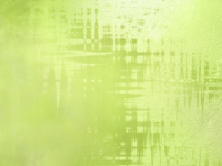 Green background - abstract spring design photo