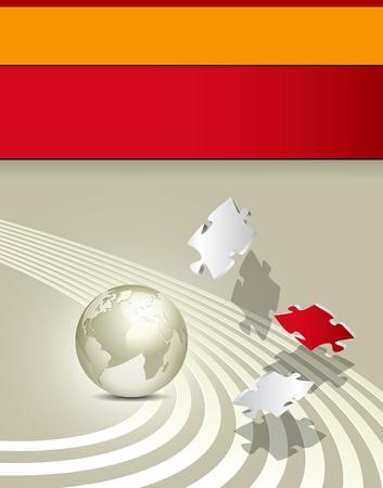earth moving: Folleto de negocios - dise�o de fondo corporativo - plantilla de la publicidad