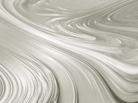 추상 회색 배경 - 액체 은색 금속 질감 스톡 콘텐츠
