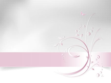 bodas de plata: Flor de fondo - patrón de la primavera abstracta