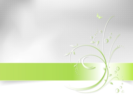 Flower background - abstract spring pattern