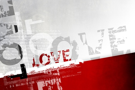 Love background abstract photo