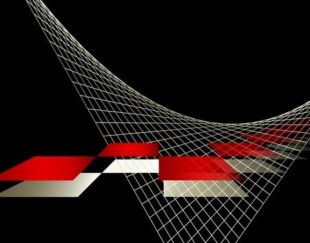 Zusammenfassung Business-Hintergrund-Design Illustration