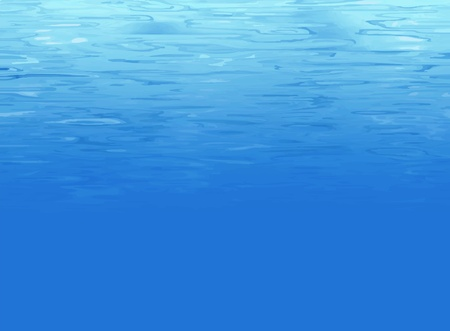 Water background underwater Vector