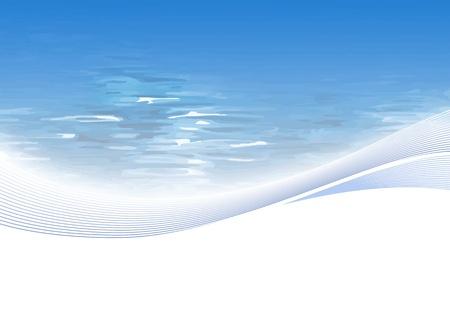 Wasser-Hintergrund Illustration