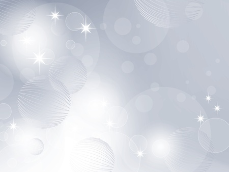 Abstract Christmas background blue Vector