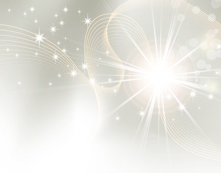 Light abstract background design - sunburst, starburst