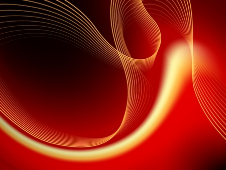 futurist: Red abstract background - also suitable for Christmas design