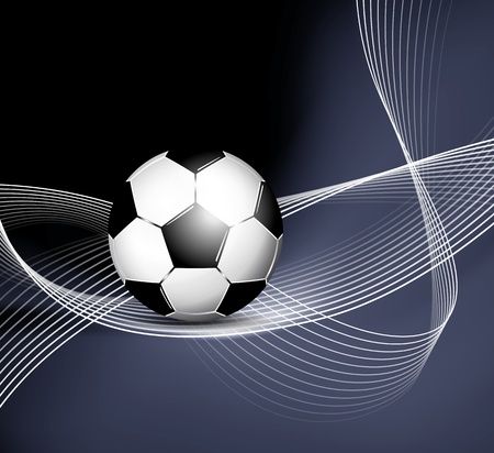 Soccer ball background Stock Vector - 15931549